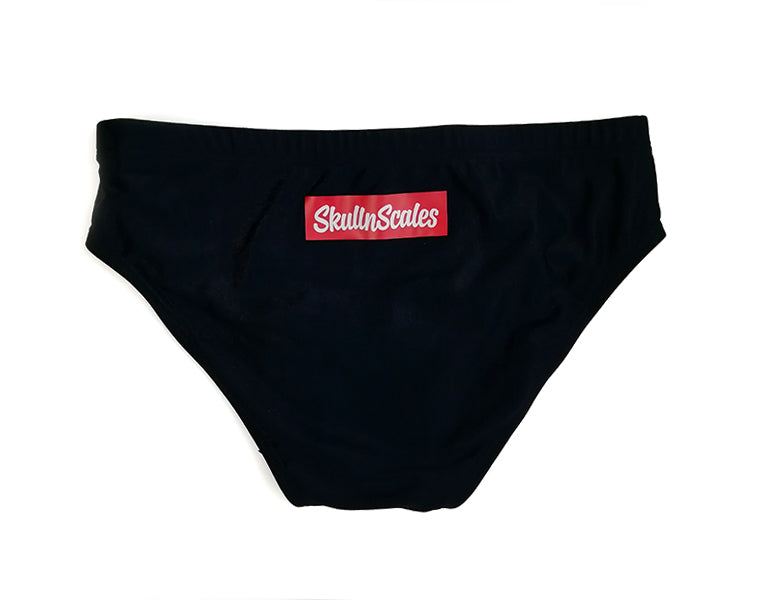 mens swimming briefs back