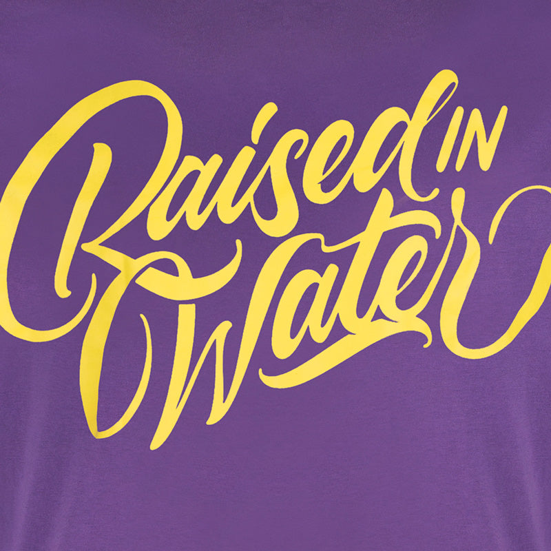 Raised in Water T-Shirt Purple