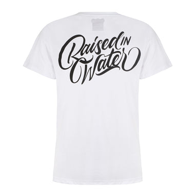 Raised In Water T-shirt White