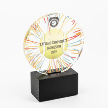 Load image into Gallery viewer, Bespoke round shape acrylic award_Awards and medal studio 2