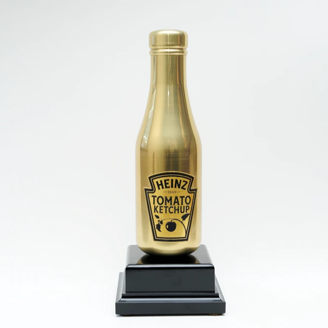 Golden Heinz bottle award