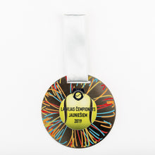 Load image into Gallery viewer, Custom design silver medal for tennis championship_full colour print_Awards and Medal Studio_1
