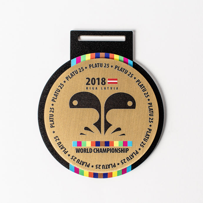 Custom_metal_medal_Gold_full colour print_medal design_Awards and medal studio