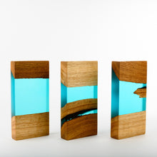 Load image into Gallery viewer, Custom wood-resin art award_Ready to order_Awards and Medal Studio