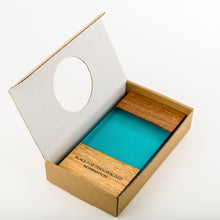Load image into Gallery viewer, Custom wood-resin art award with personalised engraving_cardboard box_Awards and Medal Studio