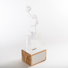 Load image into Gallery viewer, Custom design basketball trophy