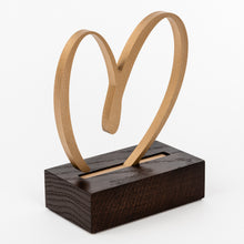 Load image into Gallery viewer, Custom gratitude trophy_heart design gold award_Awards and Medal Studio