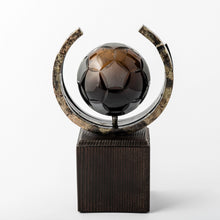 Load image into Gallery viewer, Football eco friendly custom crystal forged metal trophy_Awards and medal studio