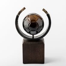 Load image into Gallery viewer, Football eco friendly custom crystal forged metal trophy_Awards and medal studio 3