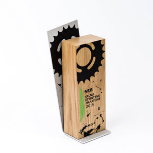 Handcrafted custom wood metal trophy-awards and medal studio