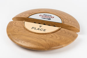 Custom wood metal plaque_Awards and medal studio