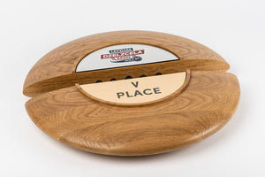 Custom wood metal plaque_Awards and medal studio_1