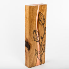 Load image into Gallery viewer, Unique wood and resin award with personalised UV digital print