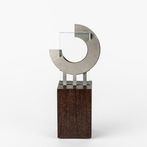 impressive custom metal glass wood award silver RO7 awards and medal studio