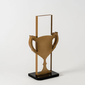 Modern design acrylic gold award RO6 awards and medal studio