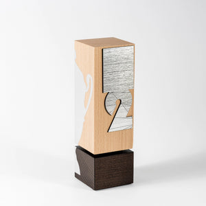 Custom wood award RO1 awards and medal studio 1