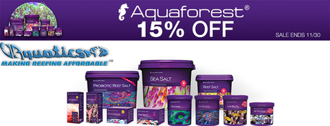 AquaForest Black Friday