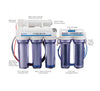 Bulk Reef Supply 6 stage premium  Deluxe Plus RO/DI system - Vaquatics