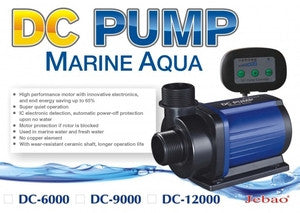 Jebao DC Return Pump Model 3000 - 12000 - Vaquatics