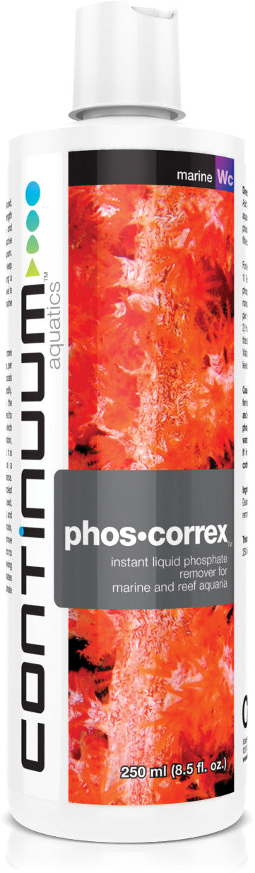 Continuum Aquatics Phos•Correx 250ml - 500ml - Vaquatics