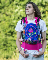 07699704f64 Rose Stained Glass Full Buckle Baby Carrier