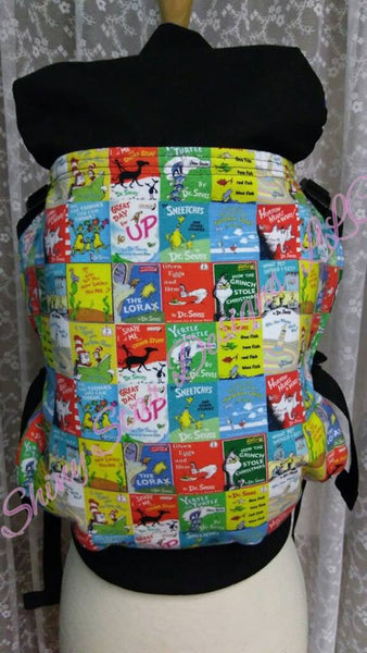 Dr Seuss Full Buckle Baby Carrier