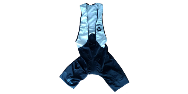 A Bibshort made of Recycled Fabrics