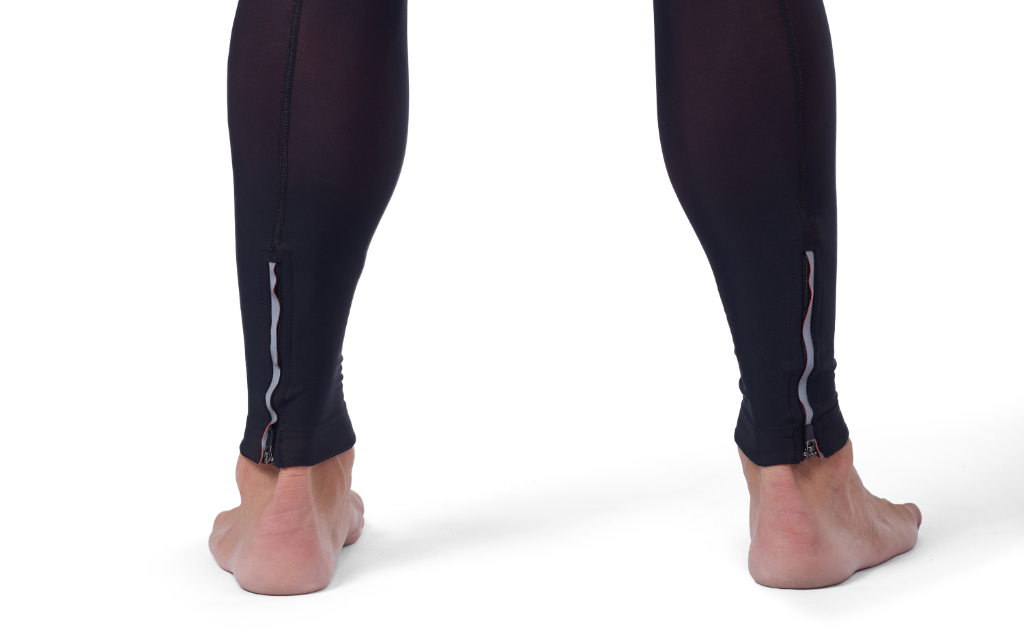 WINTER BIB TIGHT WITH ANKLE ZIPPER