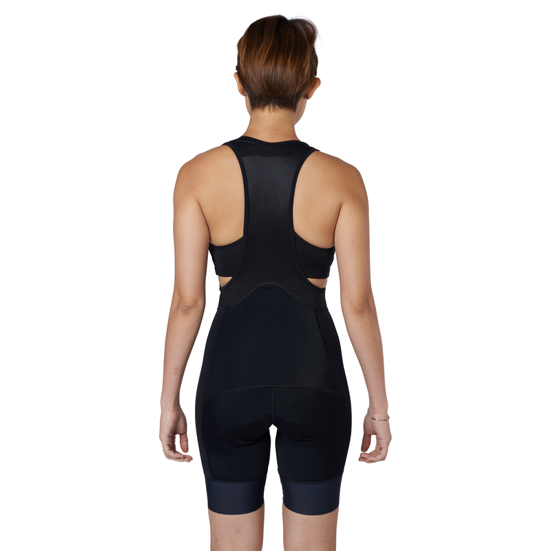 The BIB Women Stealth bibshort back