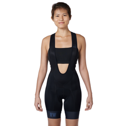 The BIB Women Stealth bibshort front