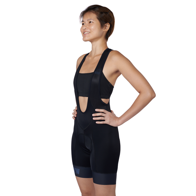 The BIB Women Stealth bibshort side