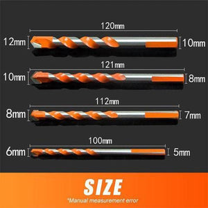 Misugi™ Extreme Durable Punching Drill Bits - 1 Set (6/8/10/12MM) - Nestzones