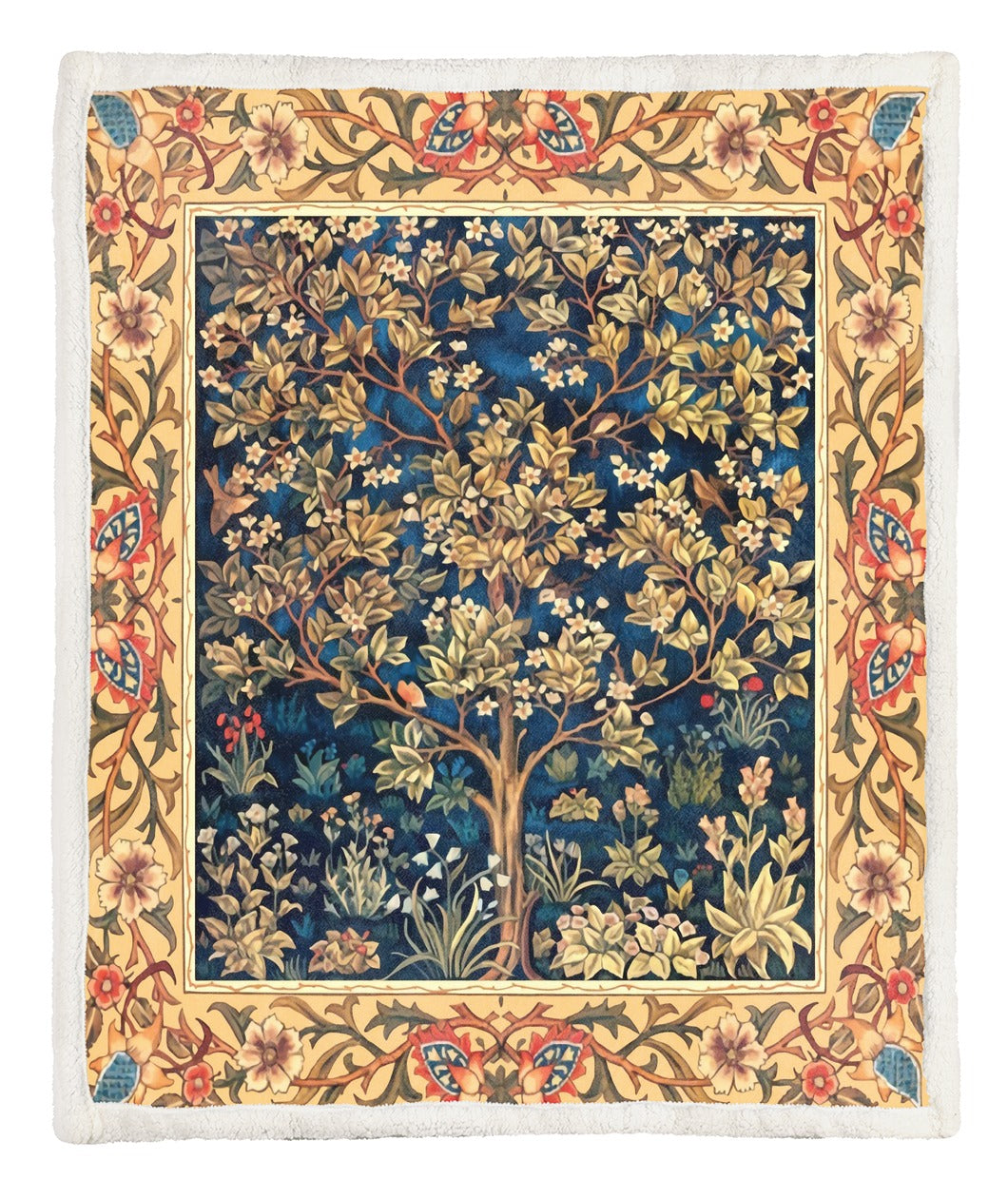 Tree Of Life Throw Blanket TABCCC19103857