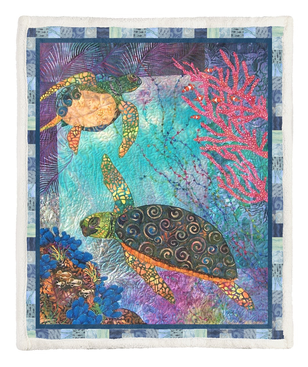 Turtle Throw Blanket TABCCC19102546