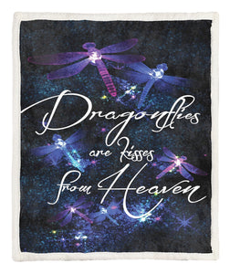 Dragonfly Throw Blanket CCC25102509