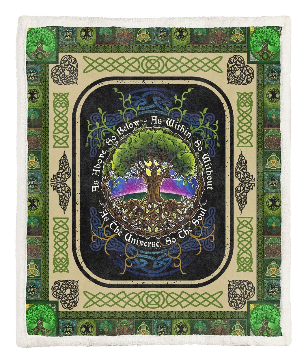 Tree Of Life Throw Blanket TABCCC19103863