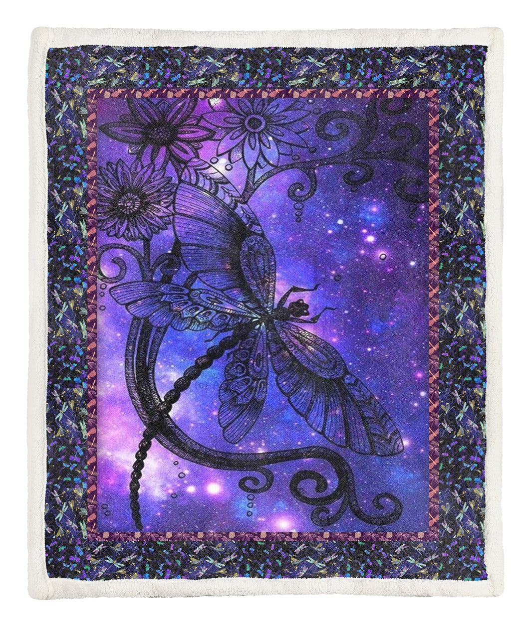 Dragonfly Throw Blanket CCC2610346