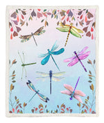 Dragonfly Throw Blanket BT160829F