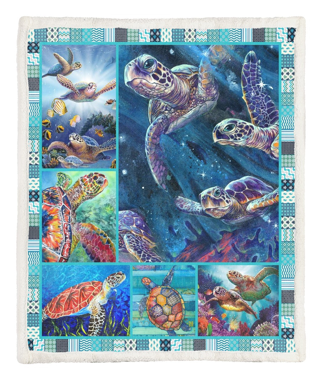 Turtle Throw Blanket TABCCC19104093