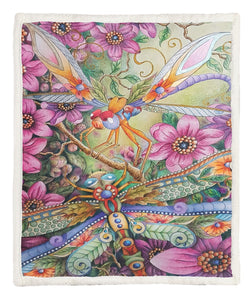 Dragonfly Throw Blanket CCC25102554