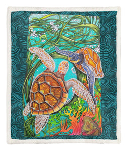 Turtle Throw Blanket TABCCC19101391