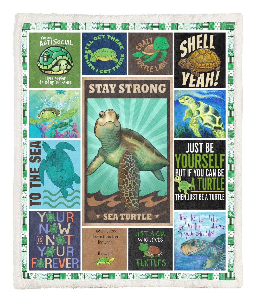 Turtle Throw Blanket TABCCC19103880
