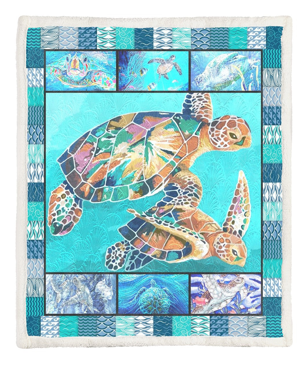 Turtle Throw Blanket TABCCC19102547
