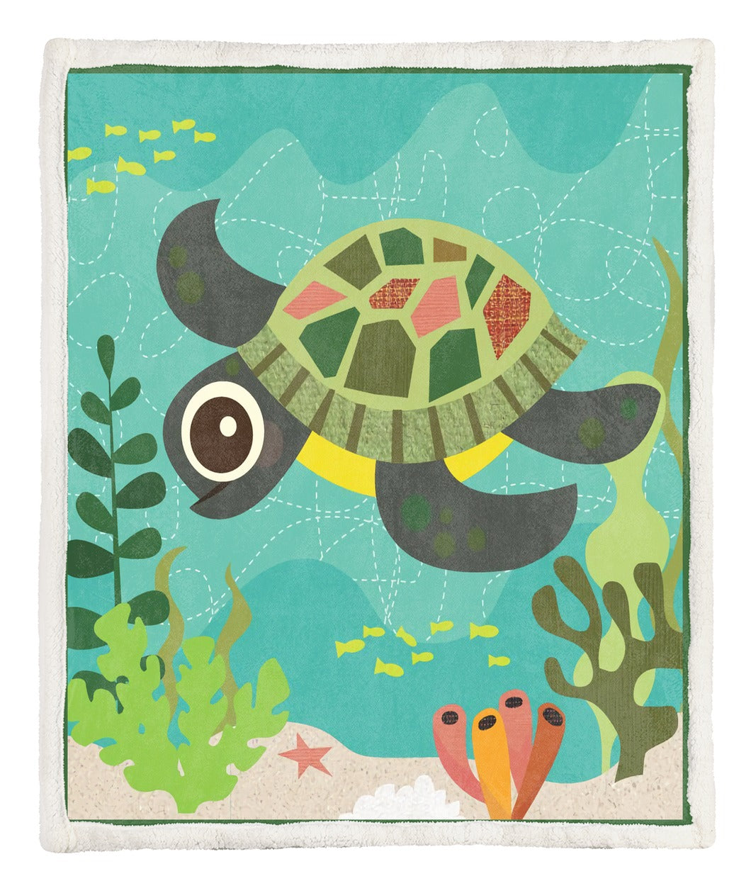 Turtle Throw Blanket TABBBB291027NB