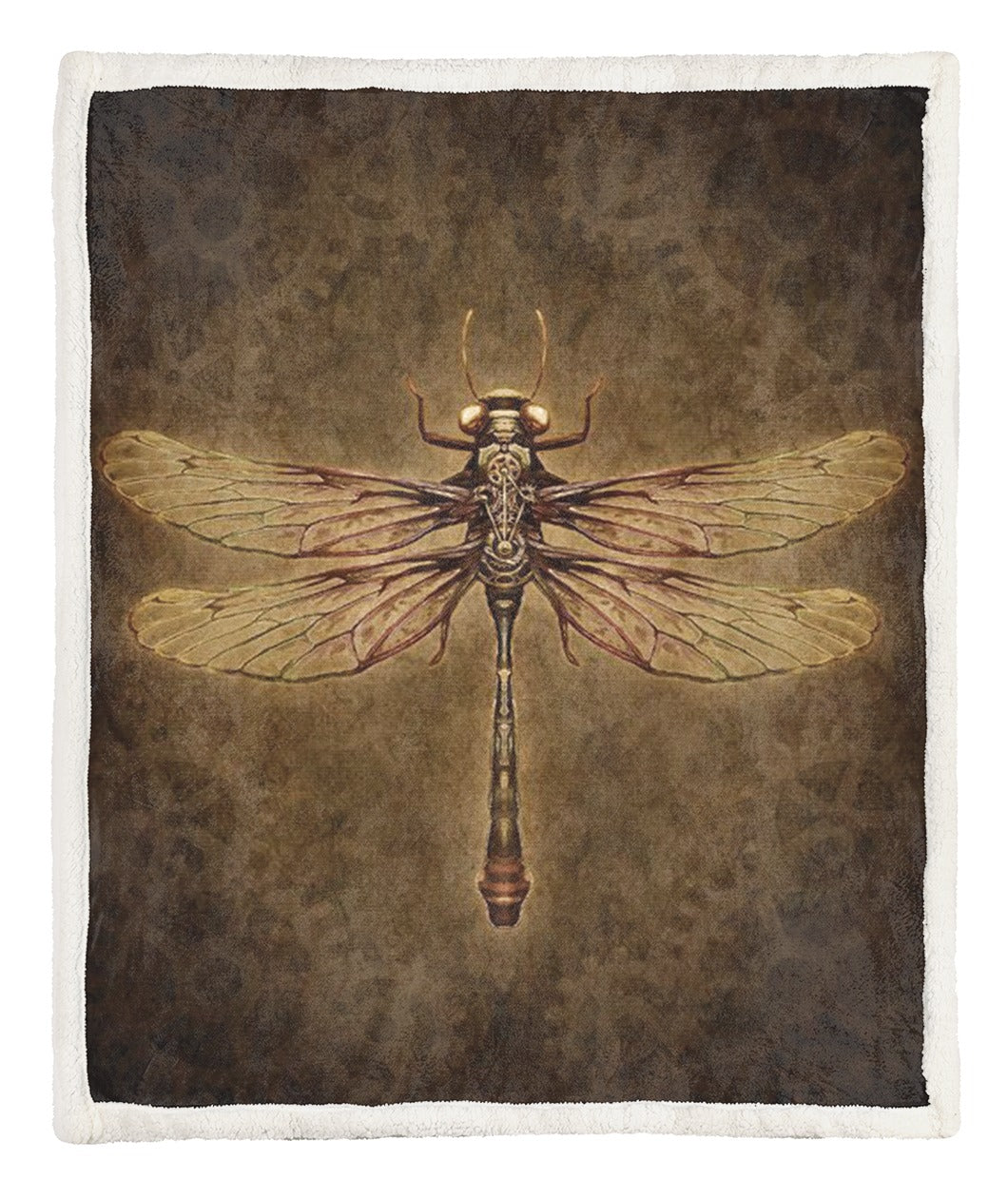 Dragonfly Throw Blanket CCC25102525