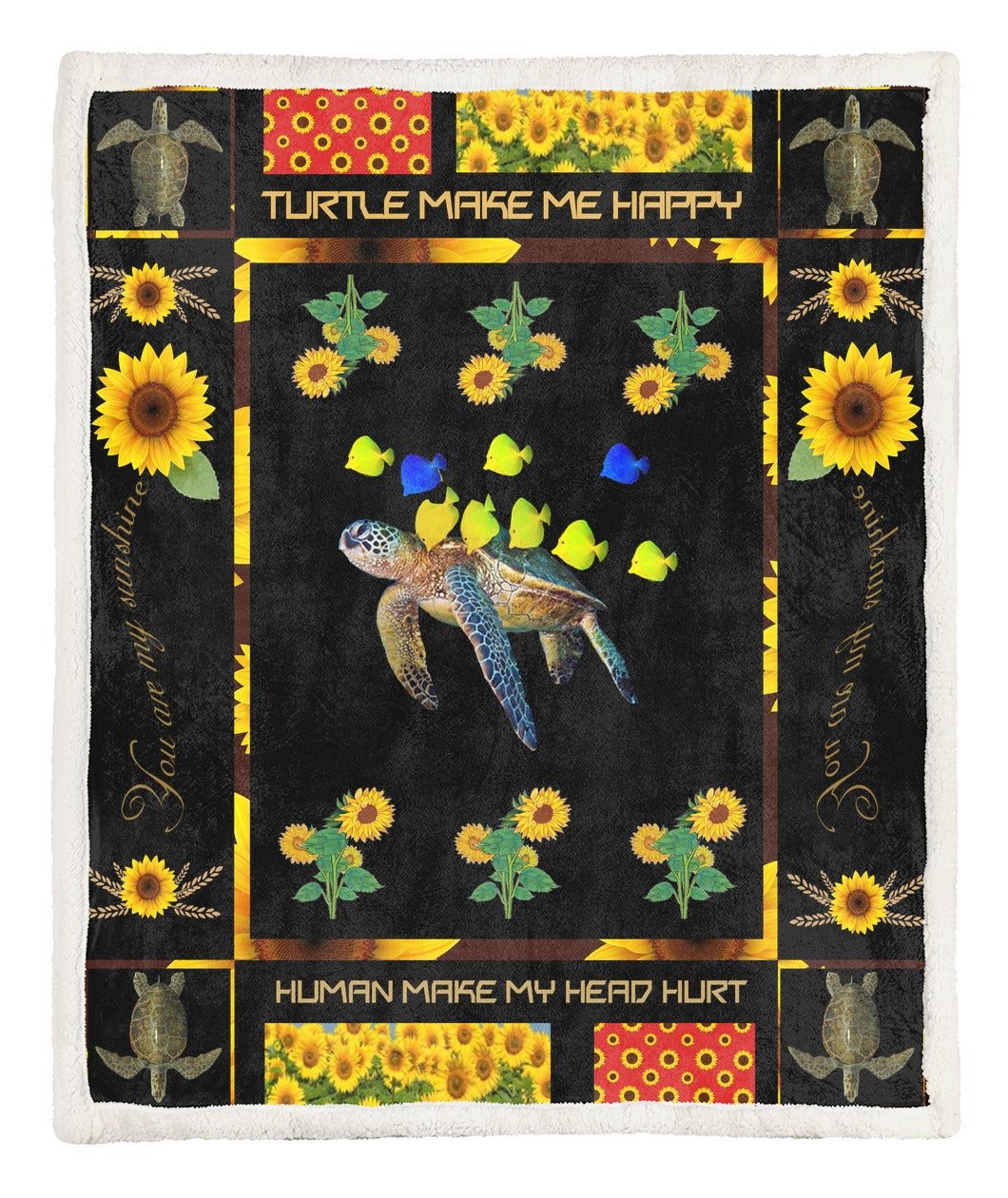 Turtle Throw Blanket TABCCC19101180