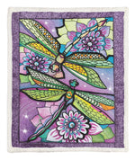 Dragonfly Throw Blanket CCC2610322