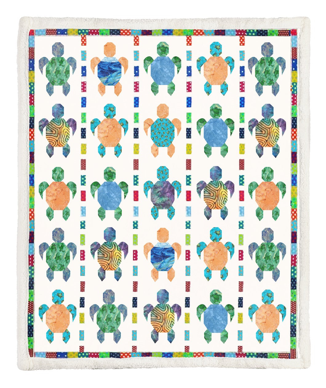 Turtle Throw Blanket TABCCC19102500