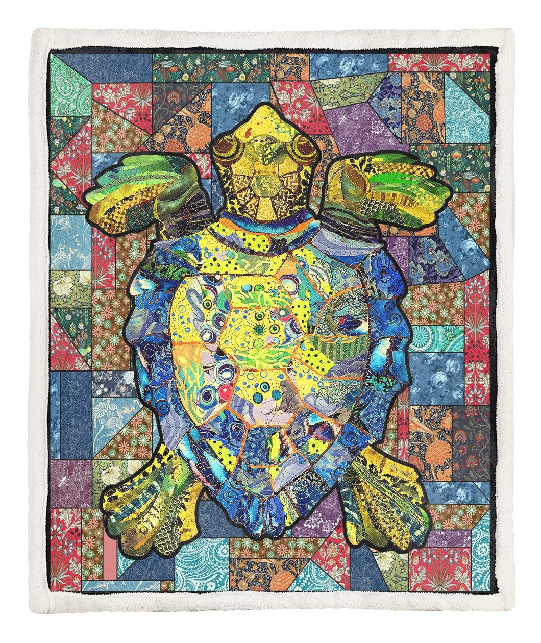 Turtle Throw Blanket TABCCC19101930
