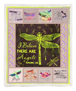 Dragonfly Throw Blanket CCC2610337